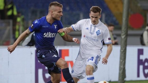 europa league, Lazio-Dinamo Kiev, Sicilia, Sport