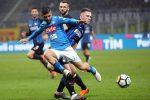 L'Inter prende un palo frena il Napoli: a San Siro finisce 0-0