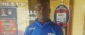 Da Solarino alla Serie A, il gambiano Jobe Abdou nel mirino del Crotone
