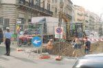 Palermo, via Roma chiusa fino a settembre: lavori del collettore fognario
