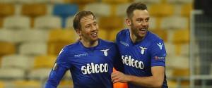 Europa League, la Lazio vince a Kiev: è l'unica italiana ai quarti