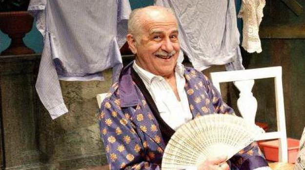 morto luigi de filippo, teatro, Sicilia, Cultura