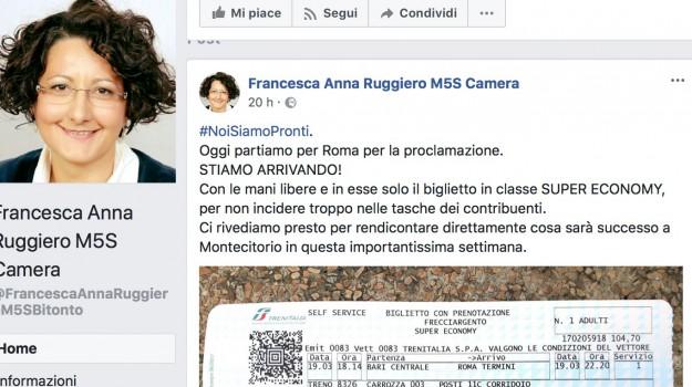 camera, m5s, Francesca Anna Ruggiero, Sicilia, Politica