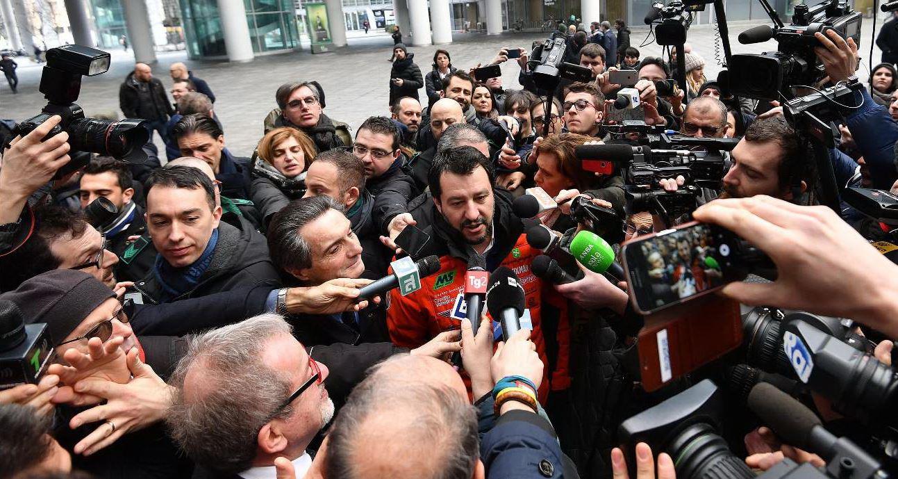 Salvini: non facciamo accordi politici o partitici