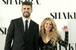 Shakira, messaggio d'amore a Piqué