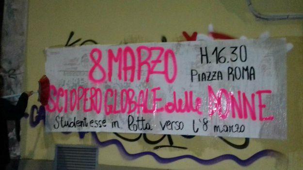 8 marzo, studentesse in lotta catania, Catania, Cronaca