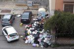 Dalla raccolta differenziata alla discarica in viale Strasburgo. Foto inviata da Giovanni