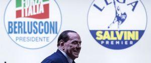 """Berlusconi: """"Impossibile un governo con M5s, mi fido di Salvini e non sarà loro alleato"""""""