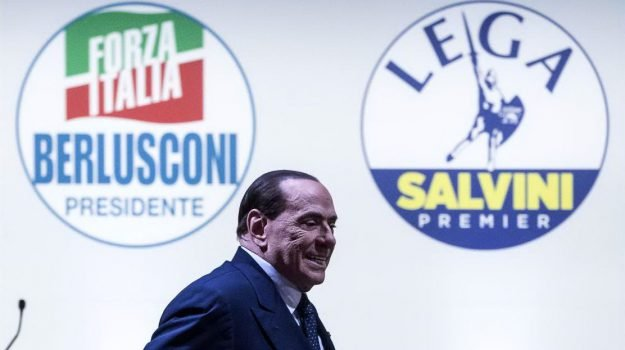 elezioni politiche 2018, forza italia, nuovo governo, Matteo Salvini, Silvio Berlusconi, Sicilia, Politica