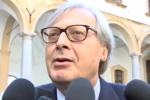 """Regione, le dimissioni di Sgarbi da assessore in Sicilia: """"Me ne vado con leggerezza"""""""
