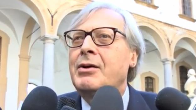 dimissioni sgarbi, Vittorio Sgarbi, Sicilia, Politica