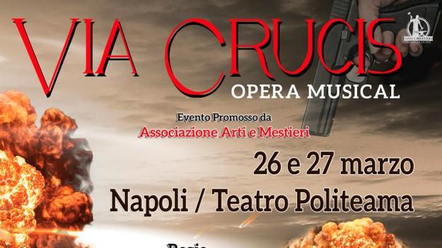 opera musical via crucis, Palermo, Cultura