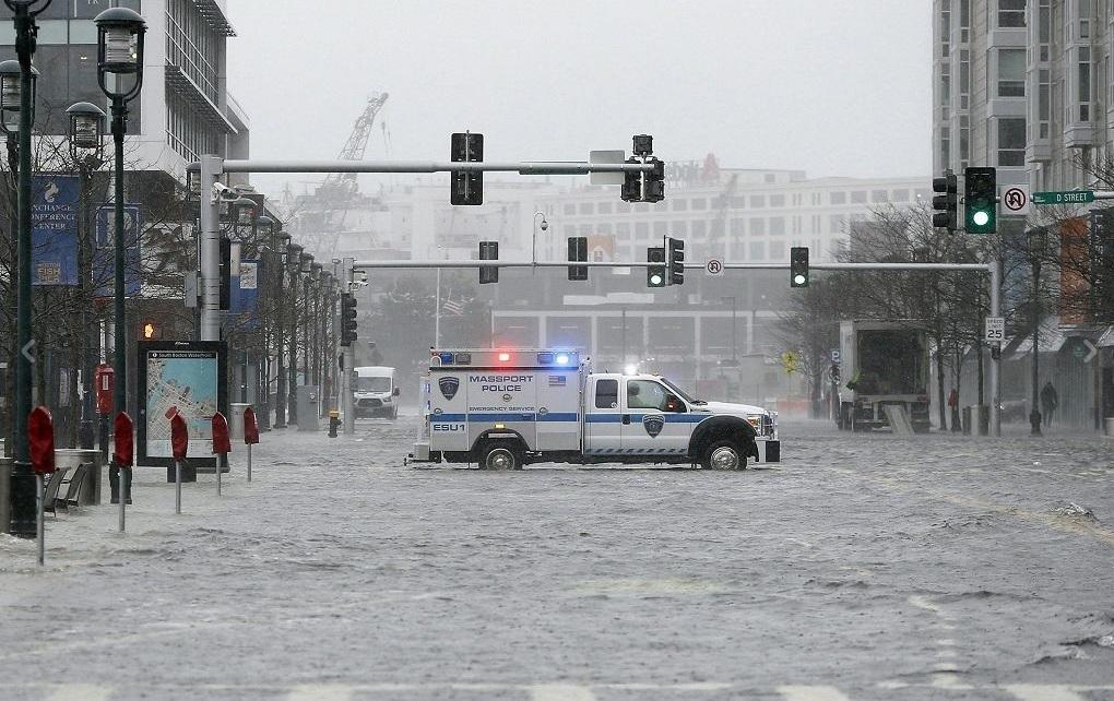 Usa: ciclone colpisce costa est, almeno 5 morti