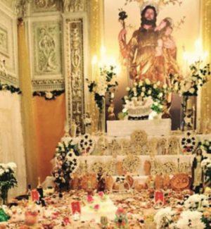 San Giuseppe, si rinnova la tradizione di altari e tavolate a Menfi