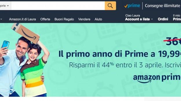 amazon prime, e commerce, rincari amazon, Jeff Bezos, Sicilia, Economia