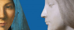 Palermo, L'Annunciata e il Busto di Eleonora d'Aragona nella stessa sala di Palazzo Abatellis