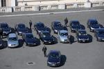 Auto blu, 774 in meno nell'ultimo anno