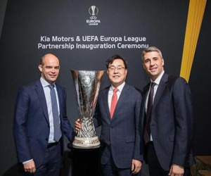 Per 3 stagioni Kia sarà Official Partner Uefa Europa League