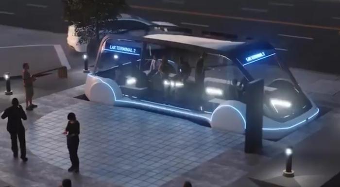 Elon musk bus sotterranei da 200 km h in futuro trasporti