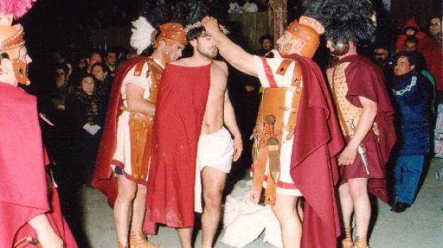 la casazza alimena, la passione di cristo, pasqua ad alimena, Palermo, Cultura