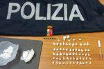 Droga nascosta nei calzini, un arresto per spaccio a Palermo