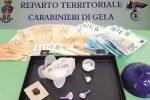 Nascondeva la cocaina in casa, arrestato 29enne di Gela