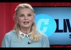 #Corrierelive, Barbara Bouchet:«Vorrei fare un film che racconti la mia età»