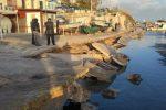 Nuovo crollo nel porticciolo di Selinunte: le immagini della banchina distrutta - Video