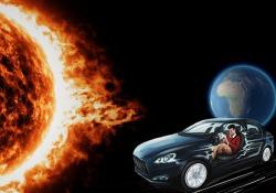 Tempeste magnetiche possono 'accecare' auto a guida autonoma