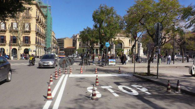 anello ferroviario palermo, doppio senso in via Dante, Palermo, Cronaca