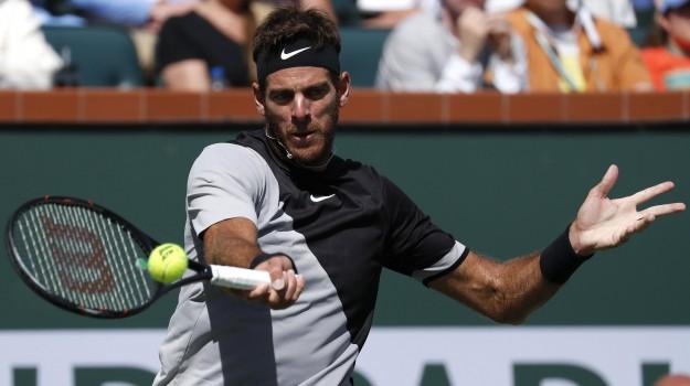 torneo Indian Wells, Juan Martin Del Potro, Roger Federer, Sicilia, Sport