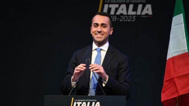 elezioni politiche 2018, ministri M5s, Luigi Di Maio, Sicilia, Politica