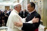 Papa Francesco e mons. Dario Edoardo Viganò