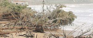 Il mare continua ad avanzare a Eraclea Minoa, distrutte altre aree
