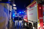 La drammatica esplosione di Catania, le immagini da via Garibaldi