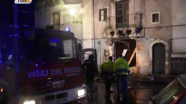 Esplosione in via Garibaldi a Catania, ipotesi suicidio