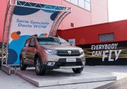 Dacia, arriva serie speciale WOW su Lodgy, Dokker e Sandero