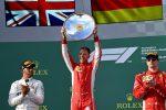 Gp Australia, vittoria della Ferrari con Vettel: fortuna e strategia beffano Hamilton, Raikkonen terzo