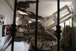 Frana montagna di Erice: case colpite e famiglie sgomberate, tutti in salvo