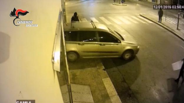 rapina con spaccata, Sicilia, Cronaca