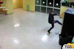 Furti nelle scuole di Palermo, incastrato dalle immagini delle videocamere: un denunciato