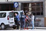 Agenti della polizia di dogana francese a Bardonecchia