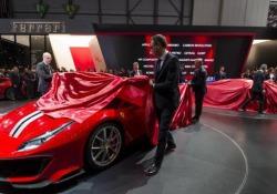Ginevra, al Salone dell'Auto svelata la Ferrari 488 Pista