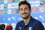 Italian defender Davide Astori during a press conference, Coverciano, Florence, 7 September 2014. ANSA/ MAURIZIO DEGL'INNOCENTI