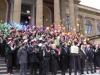 Graduation Day a Palermo, laureati in corteo da Giurisprudenza al Teatro Massimo