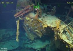 Il relitto della Juneau, affondata nel 1942