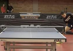 Il Roger Federer del ping pong: il colpo da sotto le gambe dell'italiano Bobocica