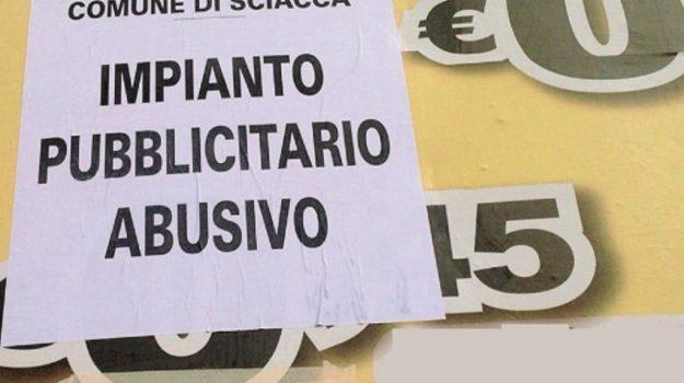 impianti pubblicitari sequestrati sciacca, Agrigento, Cronaca