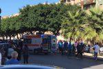Incidente in via Fardella, a Trapani - Foto da Tvio.it
