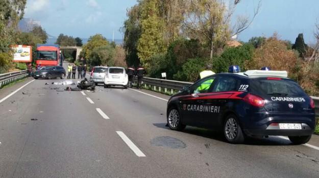 incidente villabate, morto villabate, moto camion villabate, motociclista Villabate, palermo-agrigento, Sicilia, Cronaca